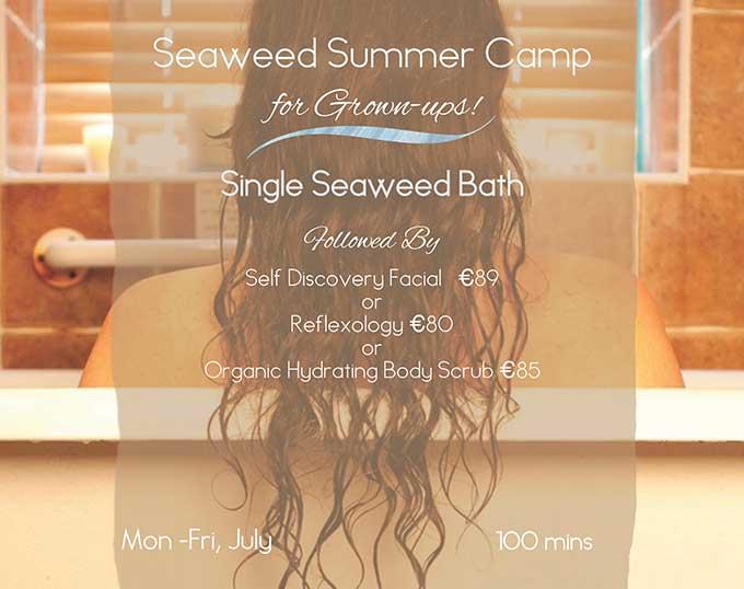Seaweed Summer Camp at Voya Seaweed Baths